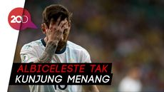 Messi Cetak Gol, Argentina Imbang Lawan Paraguay