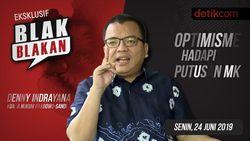 Tonton Blak-blakan Denny Indrayana: Optimisme Hadapi Putusan MK