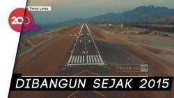 Bandara Terbesar di Timor Leste Ternyata Dibangun BUMN Indonesia