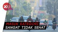 Jakarta Hari Ini Jadi Kota Berkualitas Udara Terburuk di Dunia
