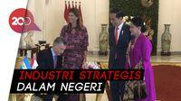Jokowi Jajakan Pesawat dan Kereta Karya Anak Bangsa ke Argentina