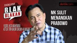 Tonton Blak-blakan Yusril Ihza Mahendra: MK Sulit Menangkan Prabowo