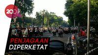 Potret Pengamanan Berlapis TNI-Polri di Gedung MK