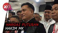 Yusril Yakin MK Tolak Gugatan Prabowo Tanpa Dissenting Opinion