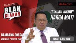 Tonton Blak-blakan Bamsoet: Dukung Jokowi Harga Mati