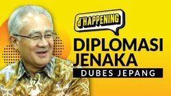 dHappening: Diplomasi Jenaka Dubes Jepang yang Viral
