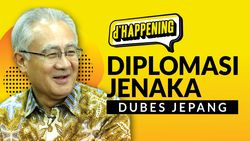 Tonton dHappening: Diplomasi Jenaka Dubes Jepang