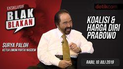 Tonton Blak-blakan Surya Paloh: Koalisi & Harga Diri Prabowo