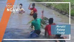 Rakit Batang Pisang Ala Anak-anak Beran Ngawi