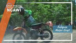 Balapan Motor Trail Sirkuit Kandangan Ngawi