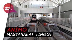 Sebulan Uji Coba, LRT Jakarta Tembus 211 Ribu Penumpang
