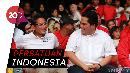 Potret Kebersamaan Pendukung Jokowi-Prabowo di Acara Milenial
