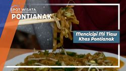 Memilih Mi Tiaw, Kuliner Malam Khas Pontianak