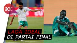 Adu Cakap Mahrez Vs Mane di Final Piala Afrika 2019