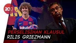 Buntut Transfer Griezmann, Selisih 80 Juta Euro Bikin Panas Barca-Atletico