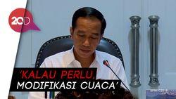 Kemarau Tiba, Jokowi Minta Jajarannya Antisipasi Dampak Kekeringan