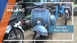 Merakit Motor Kuno Buruan Kolektor Di Malang