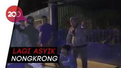 Detik-detik Polisi Ciduk Penjambret di Kendari
