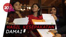 Dewi Persik dan Meldi Sepakat Cabut 3 Laporan Polisi Besok