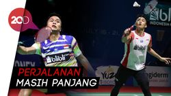 Jonatan dan Anthony Melaju ke Babak Kedua Indonesia Open 2019