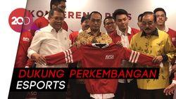 Menkominfo Lantik Pengurus Asosiasi Olahraga Video Games Indonesia (AVGI)