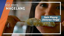 Sate Pisang dan Wedang Ronde, Kudapan Dataran Tinggi,  Jl. Medang Magelang