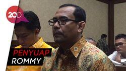 Haris Hasanudin Terdakwa Penyuap Rommy Dituntut 3 Tahun Pejara