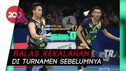 Lolos ke 16 Besar Indonesia Open, Fajar/Rian Ingin Comeback