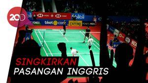 Susul Fajar/Rian, Hendra/Ahsan Melaju ke 16 Besar Indonesia Open