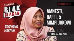 Tonton Blak-blakan Baiq Nuril: Amnesti, Raffi Ahmad dan Mimpi Jokowi