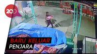 Terekam CCTV, Pria Ini Nekat Curi 3 Karung Bawang