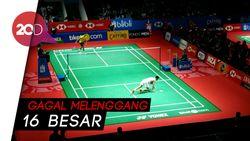 Tommy Sugiarto Gagal Taklukan Chen Long di Indonesia Open 2019