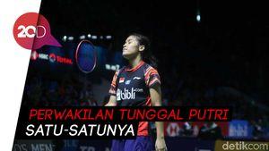 Gregoria Kalah, Langkah Tunggal Putri Kandas di Indonesia Open