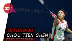 Momota dan Ginting Gugur, Jonatan Melaju ke Perempat Final Indonesia Open