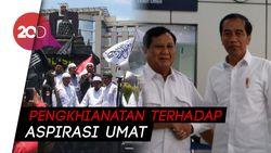 PA 212 soal Pertemuan Prabowo-Jokowi: Bentuk Pengkhianatan!
