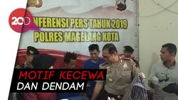 Pelempar Molotov ke Kantor Polisi dan Rumdin Ketua DPRD Dibekuk!