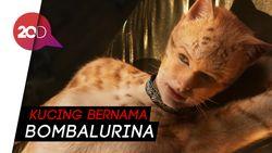 Meow! Begini Penampilan Taylor Swift Jadi Kucing di Cats