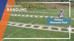 Firdaus Memorial Park, Pemakaman dengan Konsep Asri, Bandung