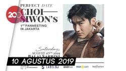 ELF! Siwon Super Junior Siap Gelar Fanmeeting di Jakarta