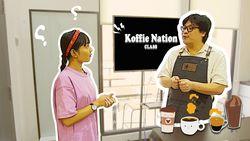 Jadi Barista Sehari di Koffie Nation
