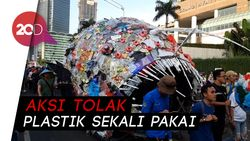 Menteri Susi Hingga Slank Lawan Monster Plastik di CFD