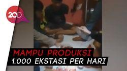 Polisi Gerebek Rumah Produksi Ekstasi di Bogor, 3 Orang Dibekuk