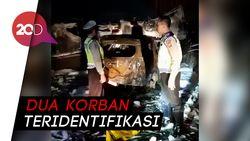Truk Pertamina Terbakar di GT Wiyoto Wiyono, 3 Orang Tewas