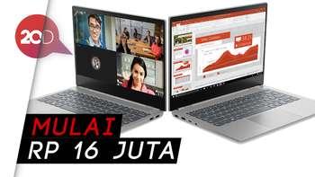 Laptop Bisnis Gaya Milenial Lenovo ThinkBook yang Super Tipis