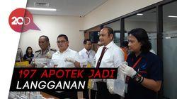 Polisi Bongkar Pabrik Obat Palsu, Omsetnya Rp 400 Juta