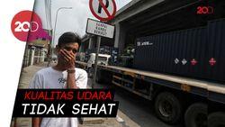 Polusi Udara Jakarta Hari Ini Terburuk Ketiga Dunia