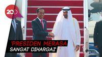 Di Balik Sambutan Spesial Jokowi untuk Putra Mahkota Abu Dhabi
