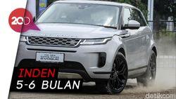 Mengaspal di Indonesia, Range Rover Evoque Dipatok Rp 1,7 Miliar