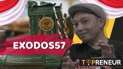 Merdeka! Ini Sepatu Kulit Bermotif Peta Indonesia