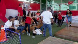 Seru! Sepakbola Terong, Tim detikcom VS Stand Up Indo